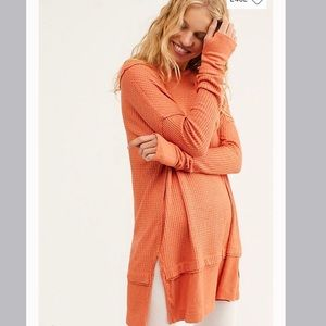 NWT Free People North Shore Thermal Size Lg